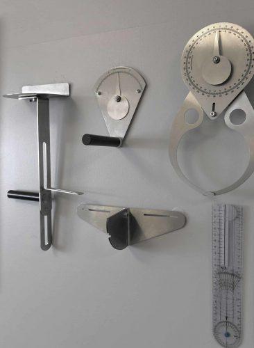 les outils de mesure du podologue